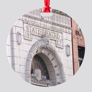 State Theatre Ornament (Round)