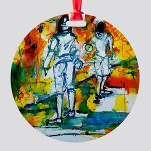 """Epee Boys"" Ornament (Round)"