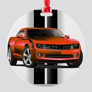 New Camaro Red Ornament (Round)