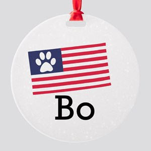 Bo Obama Ornament (Round)