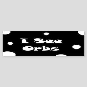 I See Orbs Sticker (Bumper)