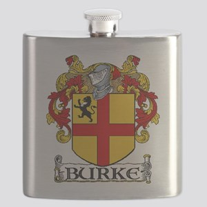 Burke Coat of Arms Flask