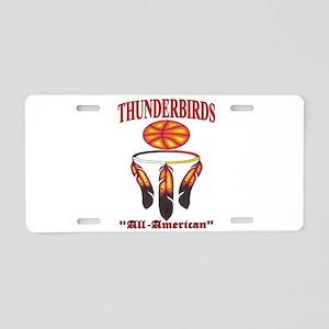 Thunderbirds All-American Basketball logo. Aluminu