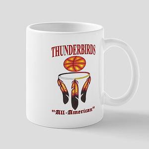 Thunderbirds All-American Basketball logo. Mug
