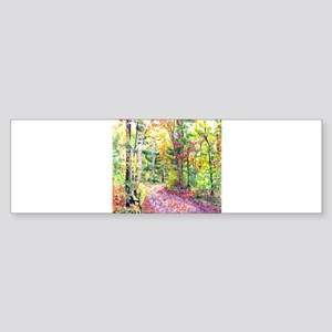 Fall Foliage Sticker (Bumper)