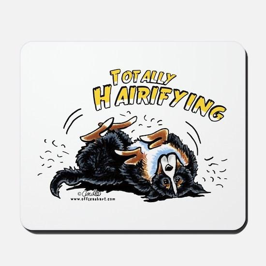 Bernese Mountain Dog Hairifying Mousepad