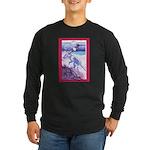 Potawatomi Bronco Long Sleeve Dark T-Shirt