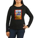 Potawatomi Pony Women's Long Sleeve Dark T-Shirt