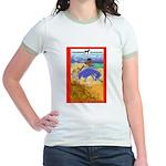 Potawatomi Pony Jr. Ringer T-Shirt