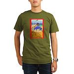 Potawatomi Pony Organic Men's T-Shirt (dark)