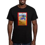 Potawatomi Pony Men's Fitted T-Shirt (dark)