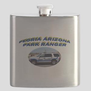 Peoria Ranger Flask
