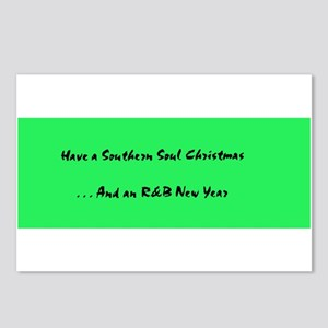 Postcards (8-Pack): Have A Southern Soul Christmas