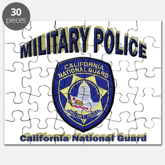 California National Guard MP Puzzle