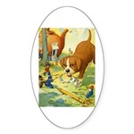 Teenie Weenies Sticker (Oval 50 pk)