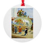 Teenie Weenies Round Ornament