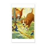 Teenie Weenies 35x21 Wall Decal