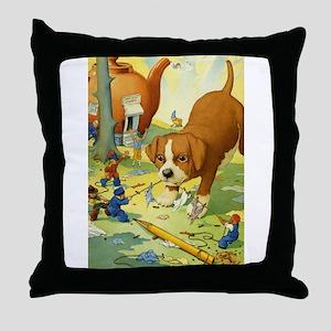 Teenie Weenies Throw Pillow