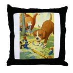 Teenie Weenies Throw Pillow