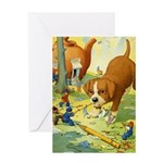 Teenie Weenies Greeting Card