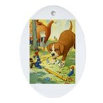 Teenie Weenies Ornament (Oval)