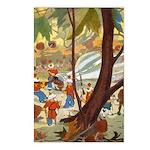 Teenie Weenies Postcards (Package of 8)