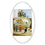 Teenie Weenies Sticker (Oval)