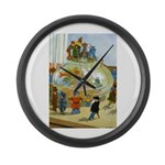 Teenie Weenies Large Wall Clock