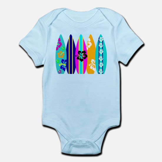 Surfboards Infant Bodysuit