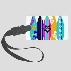 Surfboards Large Luggage Tag