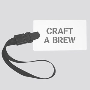 Craft A Brew Large Luggage Tag