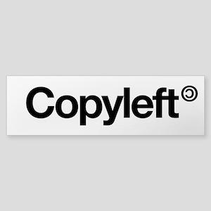 Copyleft Sticker (Bumper)