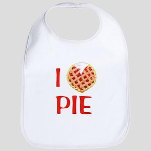 I Love Pie Bib