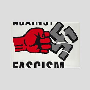 Gegen Nazis 01-2011 F 3c Rectangle Magnet