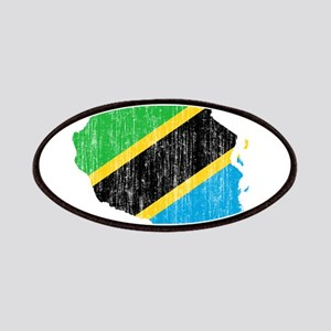 Tanzania Flag And Map Patches