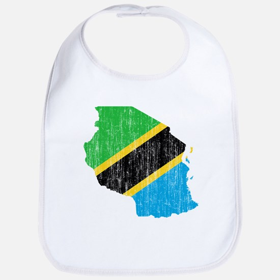 Tanzania Flag And Map Bib
