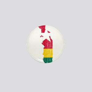 Togo Flag And Map Mini Button
