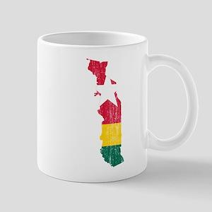 Togo Flag And Map Mug