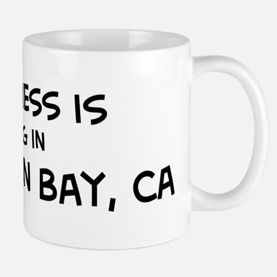Half Moon Bay - Happiness Mug