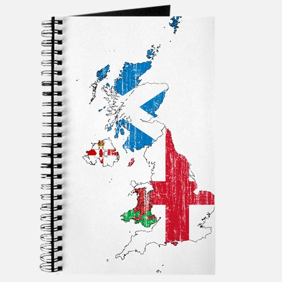 United Kingdom Subdivisions Flag And Map Journal
