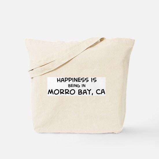 Morro Bay - Happiness Tote Bag