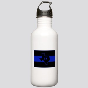 Thin Blue Line - Texas Stainless Water Bottle 1.0L