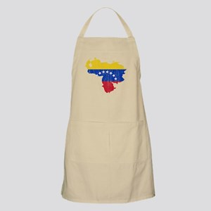 Venezuela Flag And Map Apron