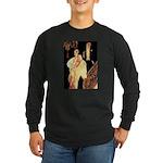 Elegance Long Sleeve Dark T-Shirt