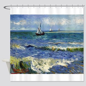 Van Gogh - Seascape Shower Curtain