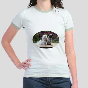 Maltese Stuff Jr. Ringer T-Shirt