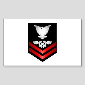 Navy PO2 Aviation Boatswain's Mate Sticker (Rectan