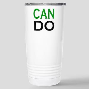 can do shot Stainless Steel Travel Mug
