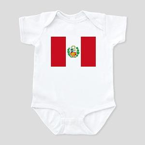 Flag of Peru Infant Bodysuit