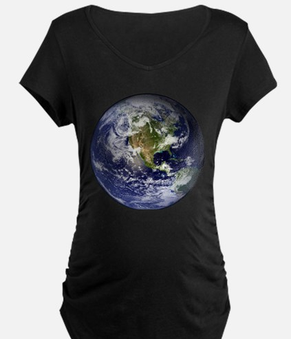 High Resolution EARTH From Space T-Shirt